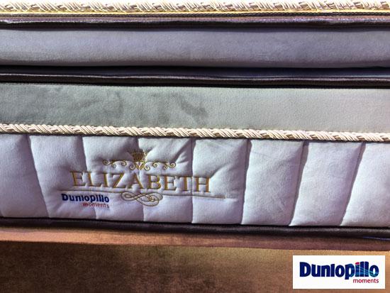 bán đệm lò xo Elizabeth Dunlopillo
