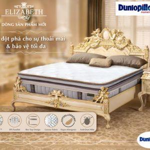 địa chỉ bán đệm lò xo elizabeth dunlopillo