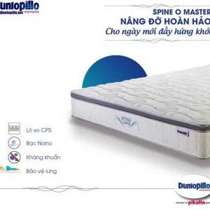 Nệm lò xo SpineOmaster chính hãng Dunlopillo