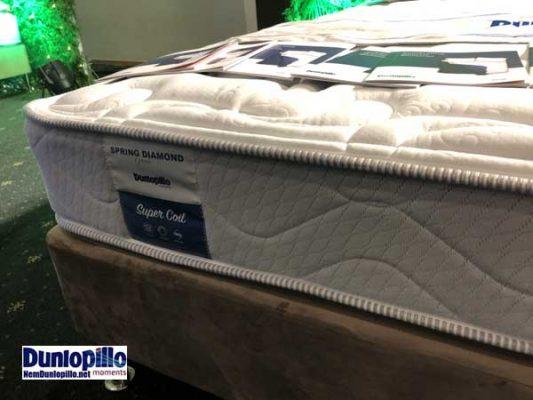 Đệm lò xo Diamond spring Dunlopillo chính hãng