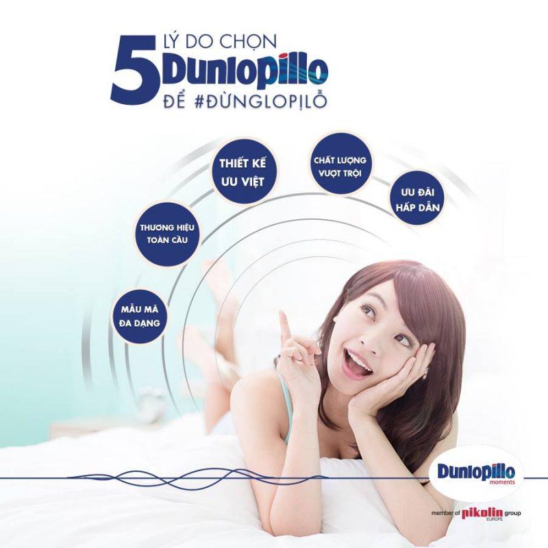 5 lý do chọn đệm Dunlopillo cho giấc ngủ của bạn