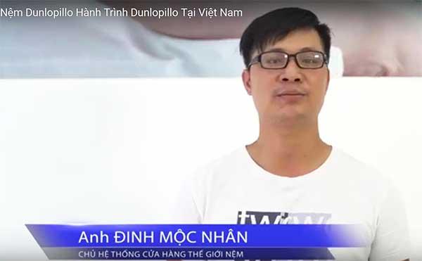 Ý kiến của Ông Đinh Mộc Nhân - chủ hệ thống cửa hàng Nệm lớn tại HCM