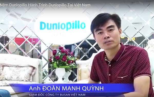 Ông Đoàn Mạnh Quỳnh - Giám đốc công ty Busan Việt Nam