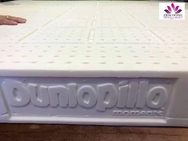 Mẫu đệm cao su Dunlopillo cao cấp nhập khẩu nguyên tấm từ Châu Âu