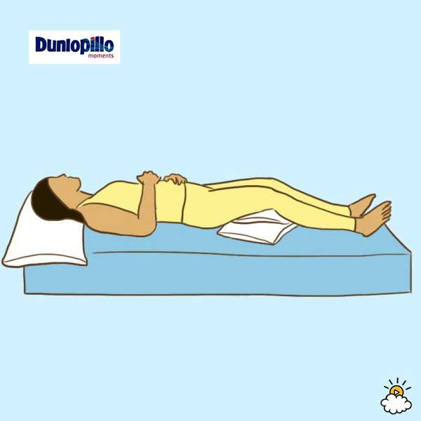 Tư thế nằm ngủ cho người hay bị đau bụng do kinh nguyệt