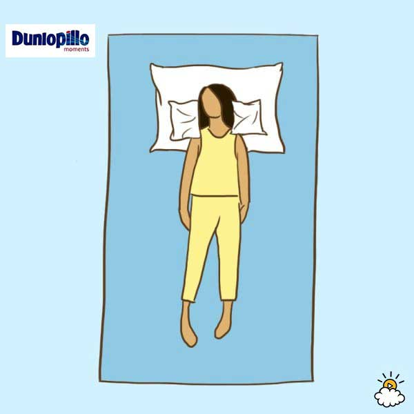 Tư thế nằm ngủ cho người hay bị bệnh nhức đầu