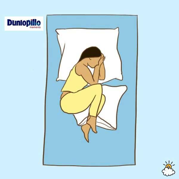 Tư thế nằm ngủ cho người hay bị bệnh về đường tiêu hóa