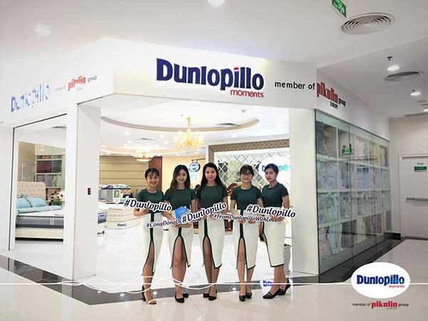 Tự hào thương hiệu Dunlopillo tại Việt Nam