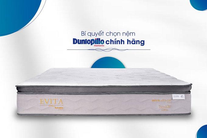 Đệm lò xo Evita Dunlopillo chất lượng cao